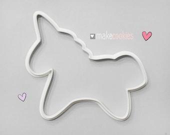 Unicorn XL Cookie Cutter