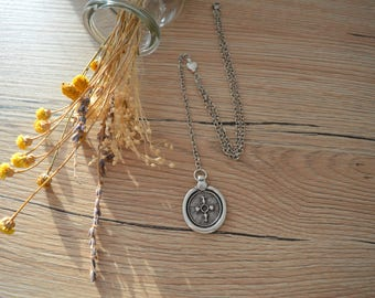 Silver Y Shaped & Lariat Coin Pendant Necklace, Bohemian Jewelry Gypsy Necklace Jewellery, Delicate Silver Jewelry, Silver Coin Necklace