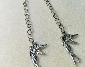 """""""The silver fairy"""" earrings"""