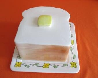 Vintage Ceramic Bread Box
