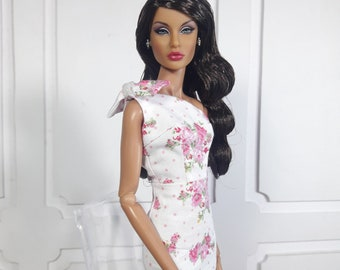 """SUMMER BLOSSOM - Look 1 - Fashion for FR2, Barbie, Silkstone and same size 12"""" doll"""