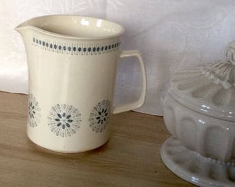 Old Norwegian, great Egersund milk/water jug pitcher
