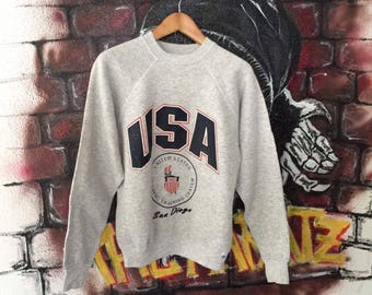 Vintage Usa Olympic Sweatshirt