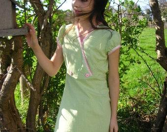 unique model vichy dress