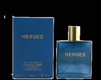 HEROES Perfume Fragrance Eau De Toilette Spray Parfum 3.3 Oz For Men Inspired by EROS