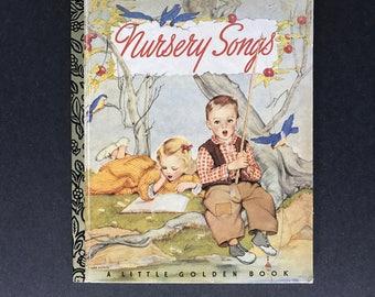 Nursery Songs Little Golden Book 50th Anniversary edition