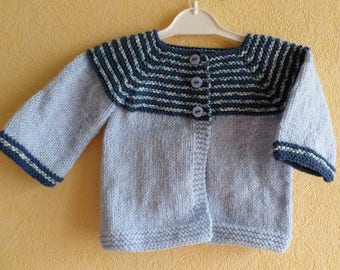 baby knit Cardigan size 1 month