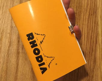 RHODIA Blank Notebook