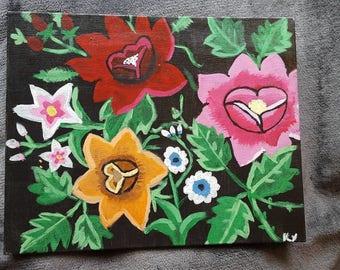 Polish Folk Art Flowers