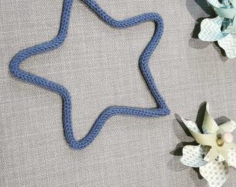 My knitting Blue Star