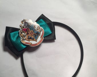 Satin Harry Potter hair bow / headband / clip