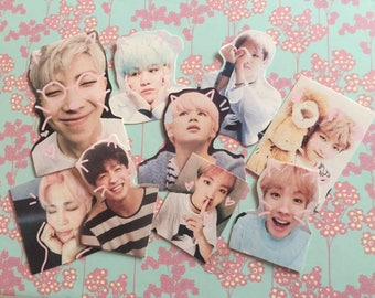 BTS stickers NOT PATCHES