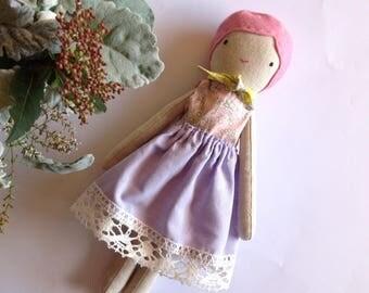 Cloth Doll, Linen Doll, Rag Doll, Heirloom Doll