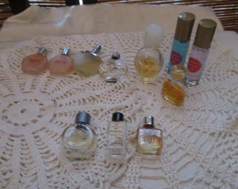 Vintage Perfumes in small Bottles (Mixed Lot)