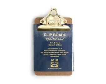 Mini Clipboard, Mini Clip Board, Gold Clipboard, Small Clipboard, Teacher Clipboard, Nurse Clipboard, Check Presenters, Mini Size