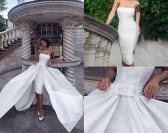 Dante - Couture Brokade Wedding Dress
