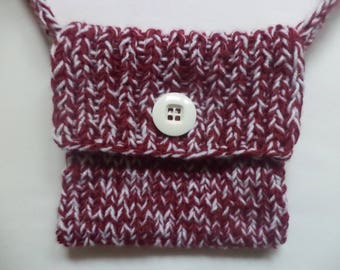 knitted bag 16cm