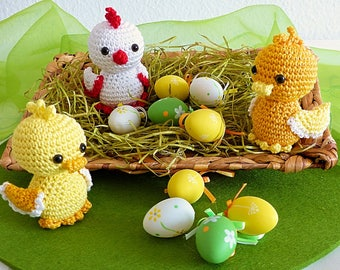 ebook: Easter Chicklet and Ducklings - Amigurumi Crochet Pattern