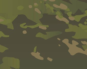 Original Multicam Tropic vector camouflage pattern for printing, scorpion, army, uniform, print, texture, military camo, winter, snow, white