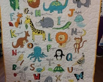 Happy Alphabet Quilt