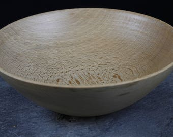 Wooden bowl made of beech hand wood