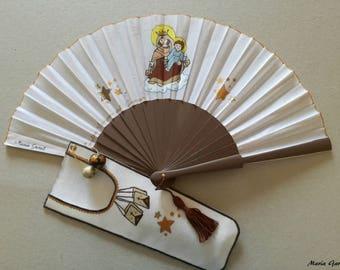 Fan made by hand.