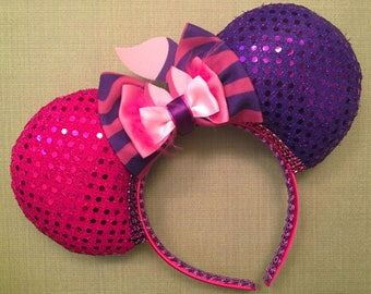 Cheshire Cat Mickey Ears