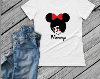 Utz Girl Disney Mom Shirt