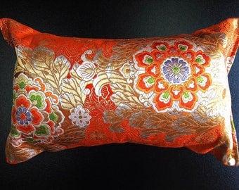 Cushion of Obi (Kimono) Japanese Silk  0000117