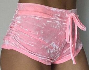 Booty-Doo Velvet Shorts