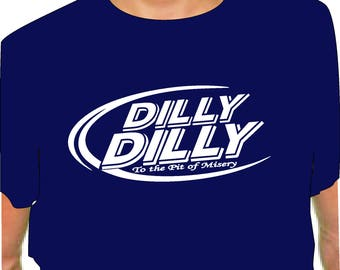 DILLY DILLY SHIRT Navy dilly t shirt bud