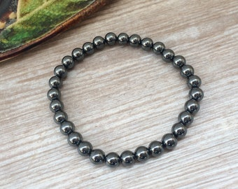 Hematite Beads Bracelet