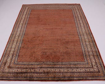 Enchanting Allover Vintage Red Botemir Persian Rug Oriental Area Carpet 10X13