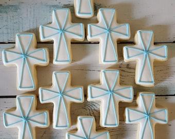 Cross/Baptism Sugar Cookies