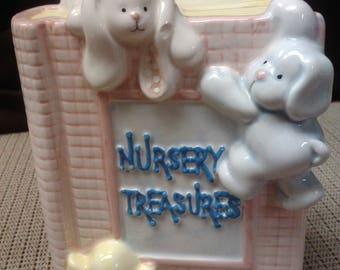 Nursery Treasures coin bank by Russ in Philippines