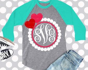 Valentines svg, Monogram SVG, Valentines monogram svg, svg, frame svg, svg,  eps, dxf, png, clip art, monogram frame svg, monogram dxf