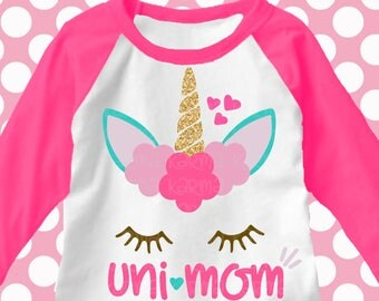unicorn svg, mom unicorn svg, unimom svg, matching mom unicorn svg, svg, unicorn family, mommy and me unicorn shirts, shortsandlemons, svg