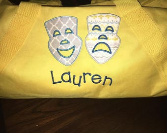 Theatre Masks Applique