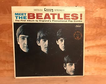 Meet The Beatles! LP Vinyl Album