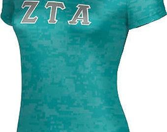 ProSphere Women's Zeta Tau Alpha Digital Tech Tee ()