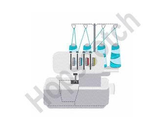 Serger Machine - Machine Embroidery Design