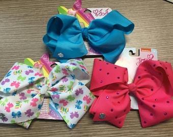 """3pcs JOJO siwa bow,big hair bows,7"""" hair bows,cheap hair bows,girls hair bows.boutique hair bows free shipping"""