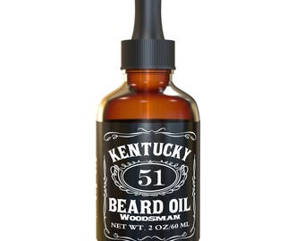 Best Beard Oil - Conditioner & Softener for Men - Woodsman - 1oz and 2oz