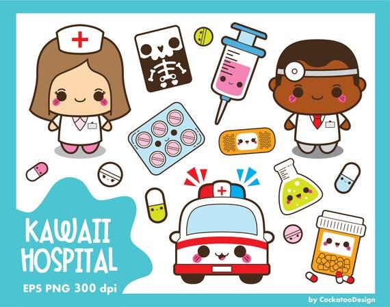30 Off Kawaii Hospital Clipart Kawaii Doctor Clipart
