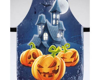 Halloween Costume Halloween Kitchen Decor Apron for Halloween Halloween Pumpkin