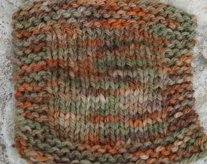 Autumn Colors 3 ply worsted weight hand dyed soft wool yarn from our farm.