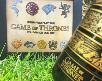 Print Game of Thrones