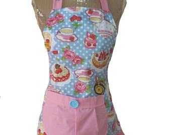 retro child apron