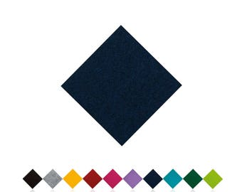 Chair cushions | DARK BLUE | Felt pads | Seat cover | to measure