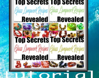 Lampwork Tutorial Bundle 4 Volumes Top Secrets